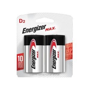Pilas Alcalinas Tipo D Energizer Max en GE Photo