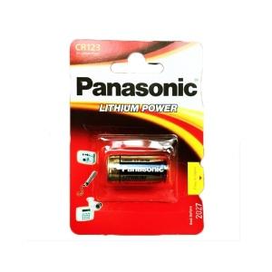 Pila Especial De Litio Panasonic CR123 en GE Photo