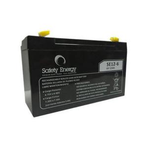 Batería De Gel Recargable Safety Energy Se12-6 6v 12ah en GE Photo