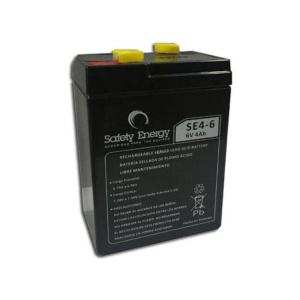 Batería De Gel Recargable Safety Energy SE4-6 6v 4ah 57mm en GE Photo