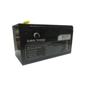 Batería De Gel Recargable Safety Energy Se7-12 12v 7ah en GE Photo