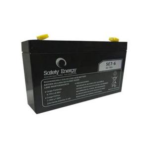 Batería De Gel Recargable Safety Energy Se7-6 6v 7ah en GE Photo