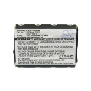 Batería Para Motorola Fv300 Mtv300tw 700mah 3.6v Nimh 2.52wh en GEPHOTO-hero