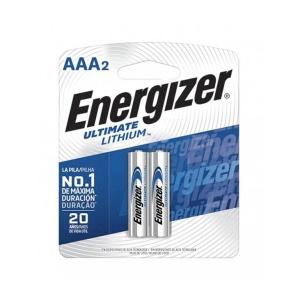 Pilas Energizer Ultimate Lithium AAA x2 en GE Photo