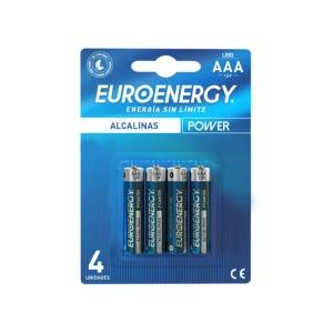 Pilas Euroenergy AAA Alcalinas en GE Photo