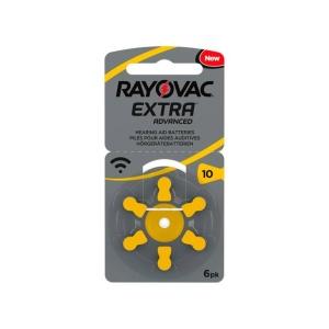 Pilas para audiología Rayovac Extra 10 en GE Photo