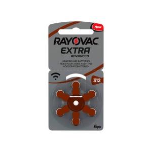 Pilas para audiología Rayovac Extra 312 en GE Photo