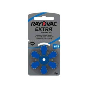 Pilas para audiología Rayovac Extra 675 en GE Photo