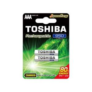 Pilas Toshiba AAA Recargable 950 mAh x2u en GE Photo