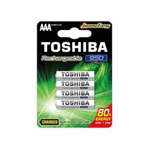 Pilas Toshiba AAA Recargable 950 mAh x4u en GE Photo